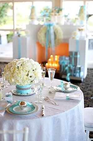 Свадьбы в голубом стиле 3