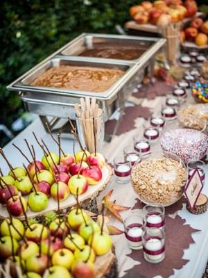 Сладкий стол или кэнди-бар на свадьбу