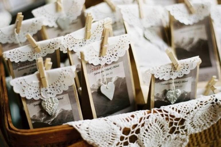 Упаковка для подарка на свадьбу гостям 30